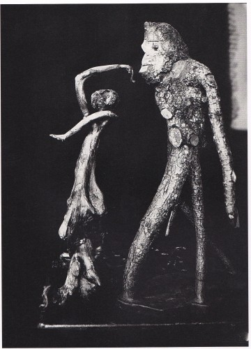 《原始人と踊り子》(1913)