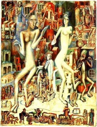男と女(1912-1913)